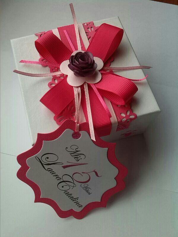 Invitaci 243 N En Caja Para 15 A 241 Os Http Www Facebook Com