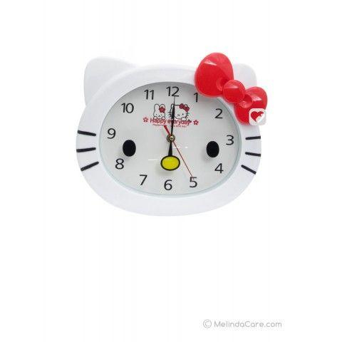 Jam Dinding Hello Kitty Rp. 85.000  kunjungi: www.melindacare.com atau hubungi 081321148408 dan Pin 765BEE5E