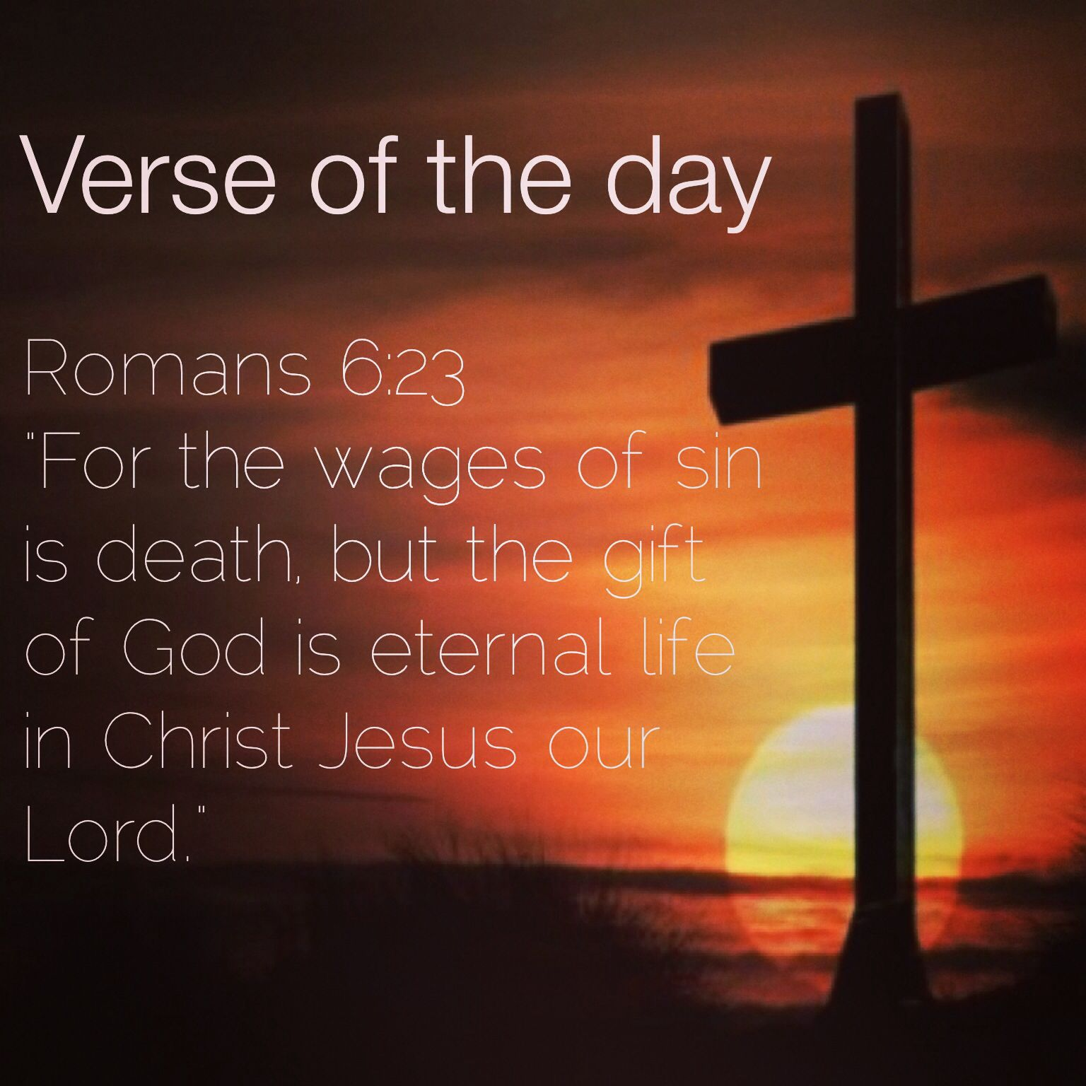 "Life And Death Quotes From The Bible Verse Of The Day Romans 623 Niv ""for The Wages Of Sin Is Death"