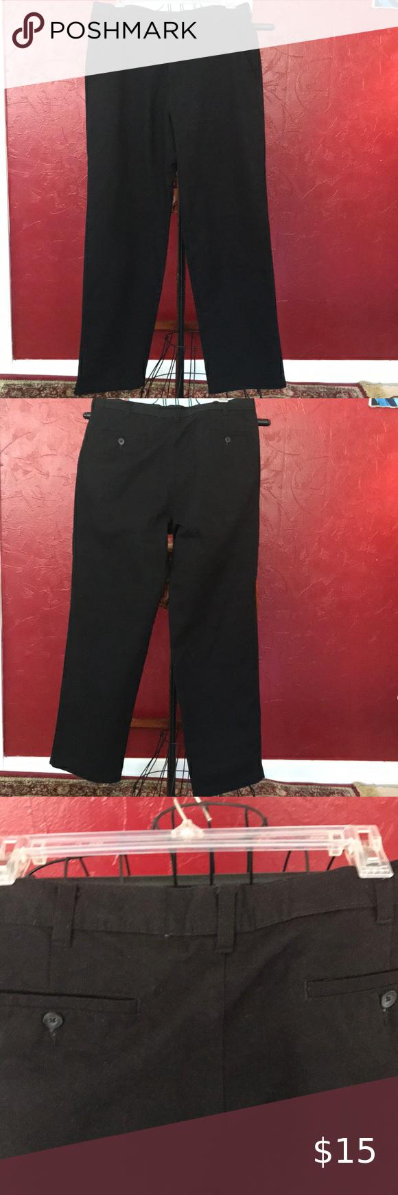 George Men S Black Dress Pants In 2020 Black Dress Pants Black Dress Pants Men Black Dress Slacks [ 1740 x 580 Pixel ]