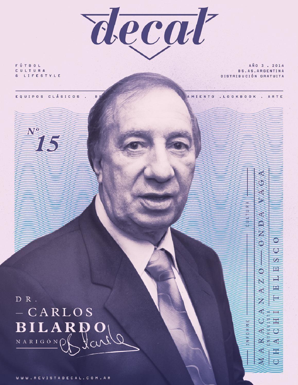 DECAL #15 Revista de fútbol, cultura y lifestyle