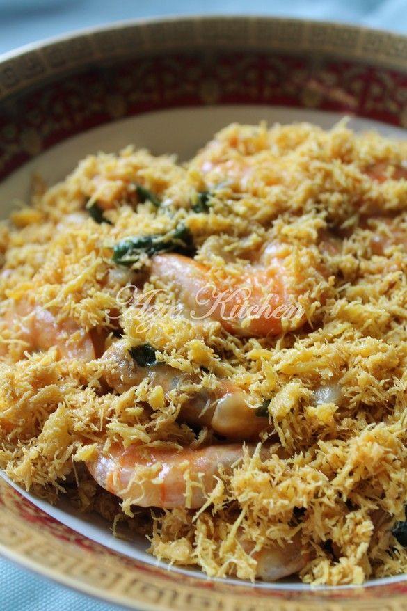 Azie Kitchen Udang Goreng Er Yang Paling Sedap Prawn