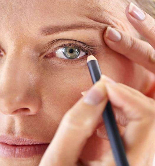 Makeup tips for over 60