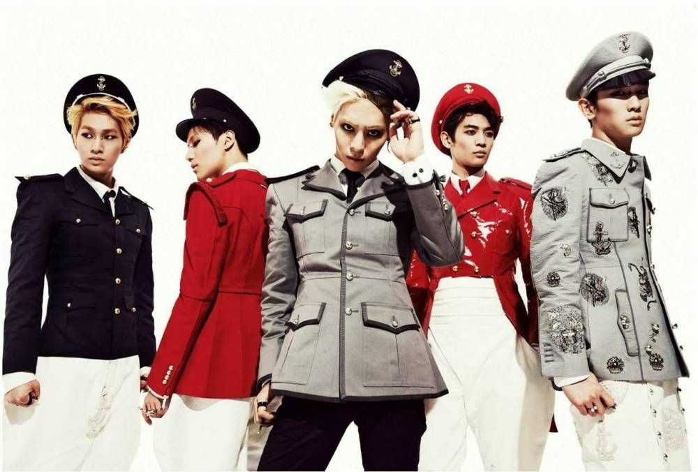 K Pop Idols Who Owned The Skies With Their Airborne Concepts Shinee Tribute Kpop