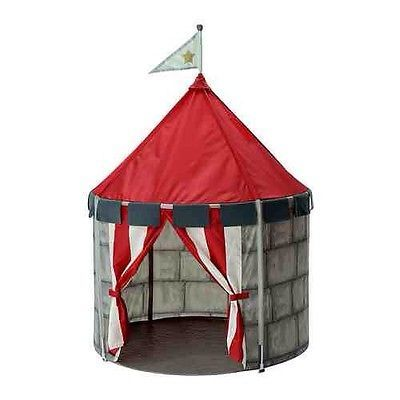 brand new 55d8a ebd64 NEW IKEA BEBOELIG Tent Castle Circus Childs Play Tent ...