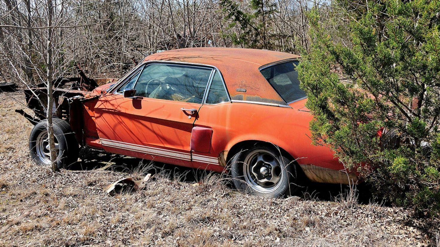 Long Lost Little Red 1967 Mustang Shelby Gt500 Worth Millions