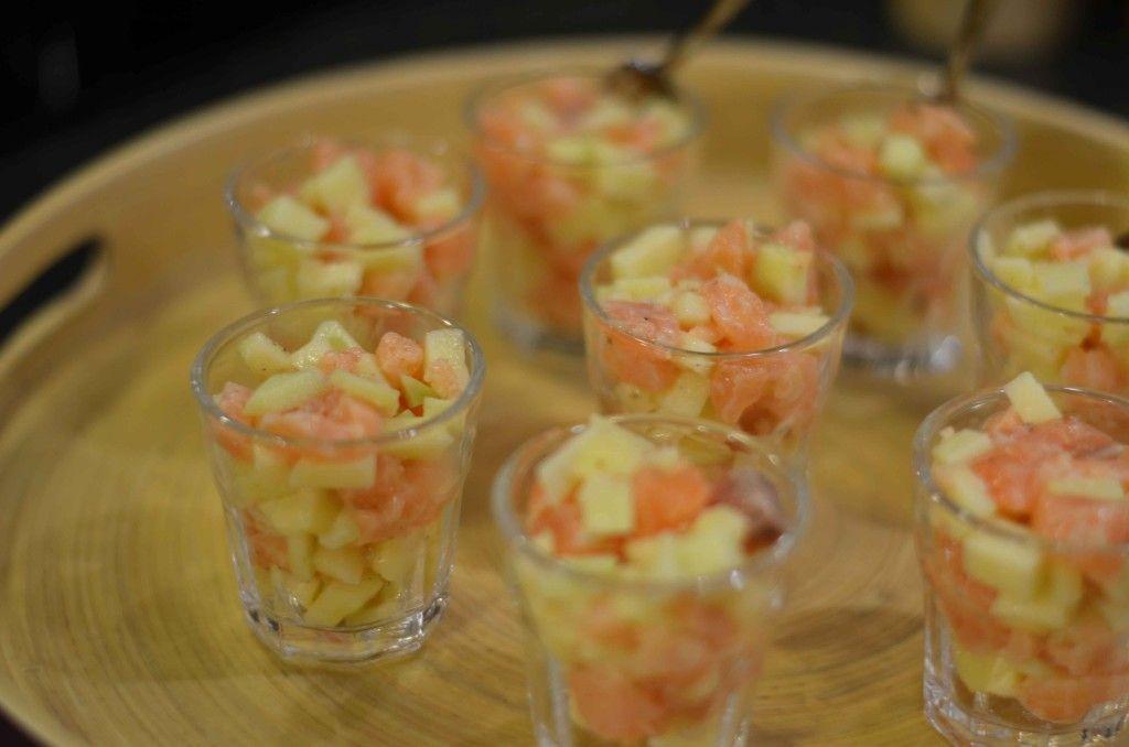 Zalmtartaar met appel van carolinedelaere.com