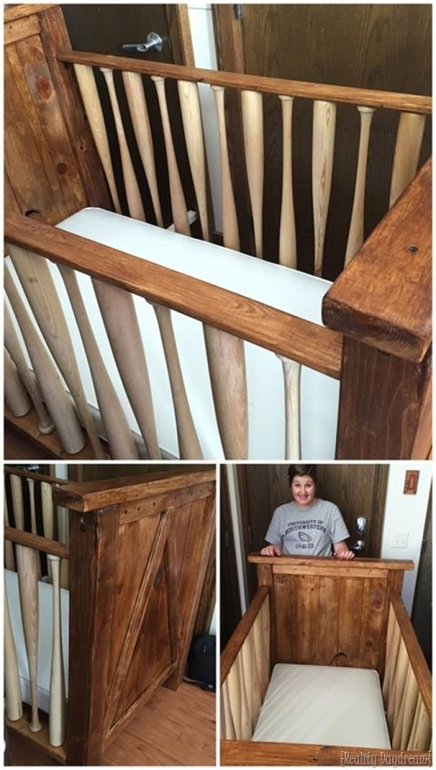 Build Your Own Baby Crib With Baseball Bats Sawdust Embryos