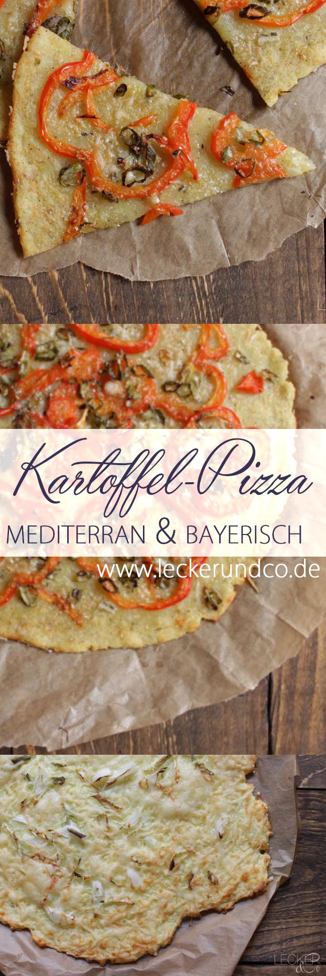 Zweierlei kartoffelpizza fr nkisch und mediterran for Kuchen landhausstil mediterran