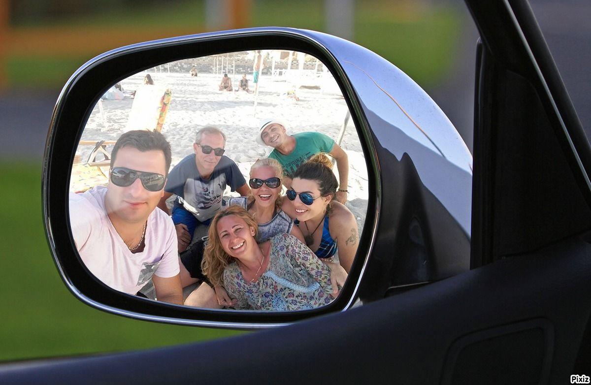 Carro Espelho Retrovisor