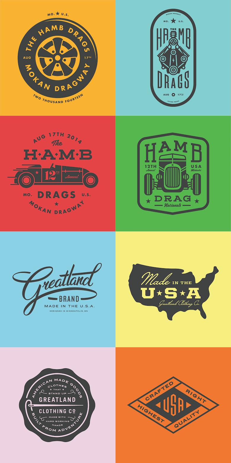 67 Beautiful Retro Style Logos And Badges For Design Inspiration Graphic Design Logo Vintage Logo Design Logo Design Inspiration Vintage