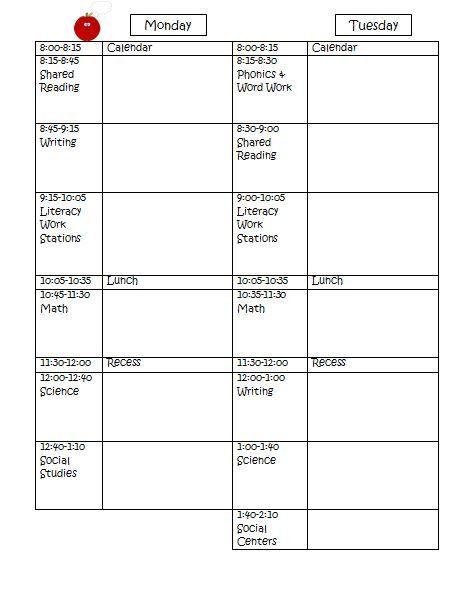 Lesson Plan Template Free Teacher Teacher Pinterest Lesson