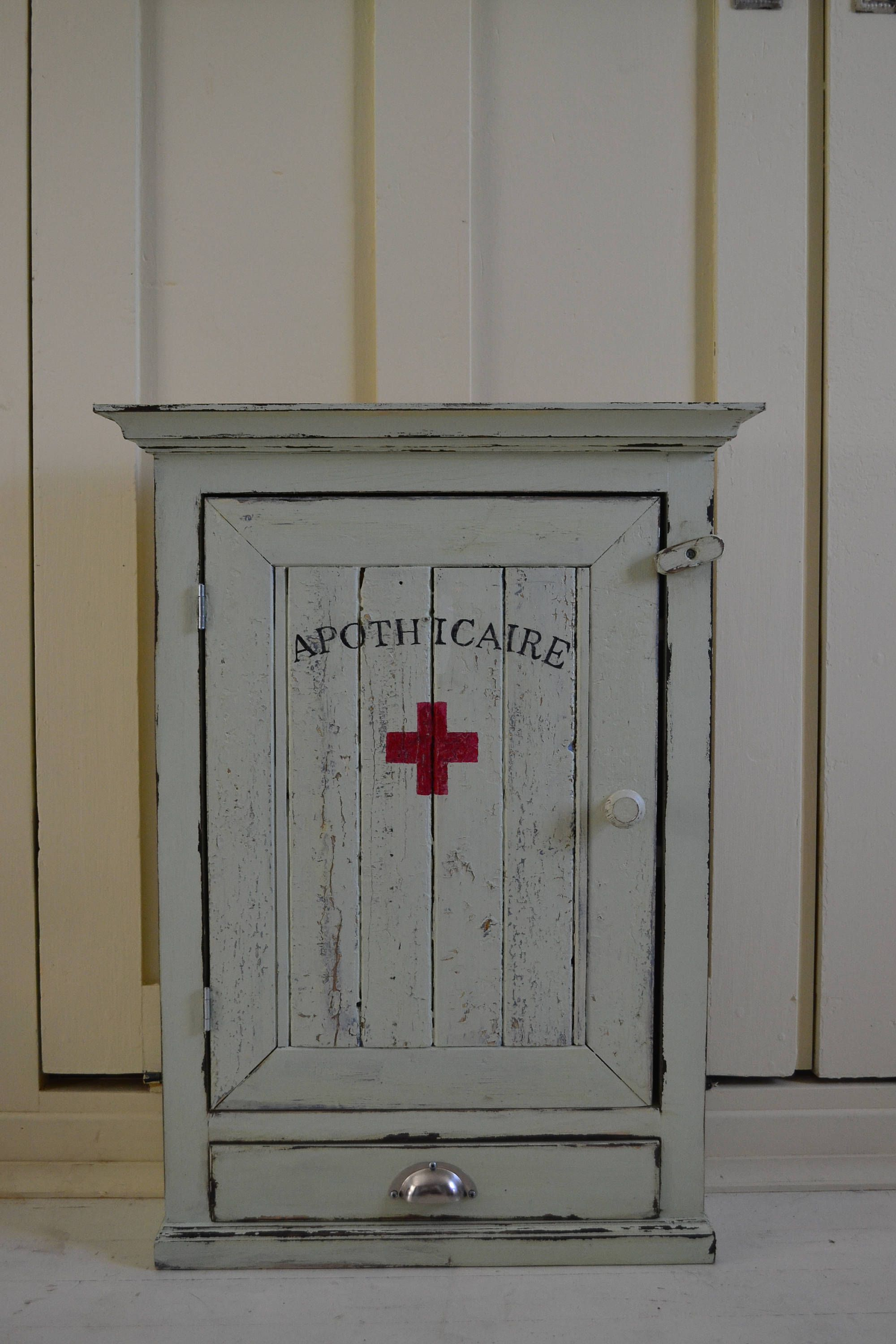 medicine cabinet with drawer antique reproduction 22 x 30 rh pinterest com