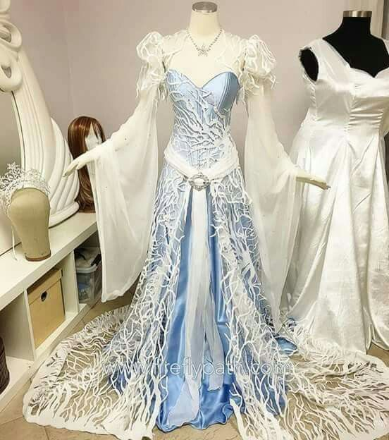 Elven Wedding Dress: Costuming And Cool Clothes