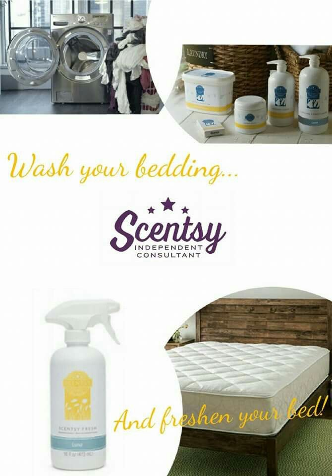 Wash Your Bedding Good Time To Spray Your Mattress With Scentsy