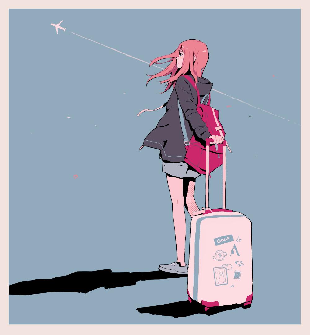 traveller, anime girls 3520x3796 Wallpaper yml1yk