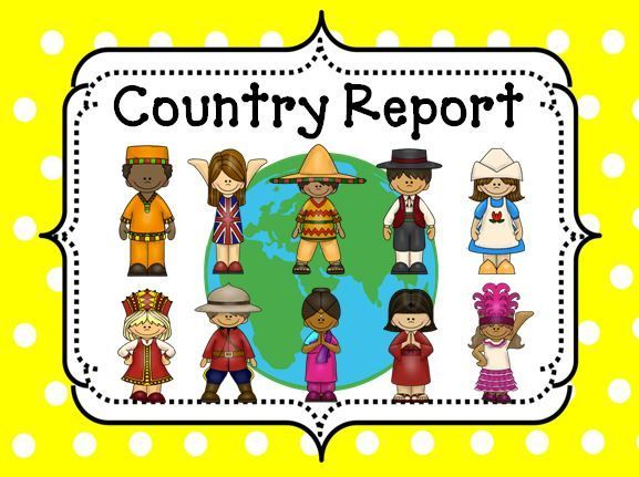 Country Report To be, Research report and Template - formal report template word