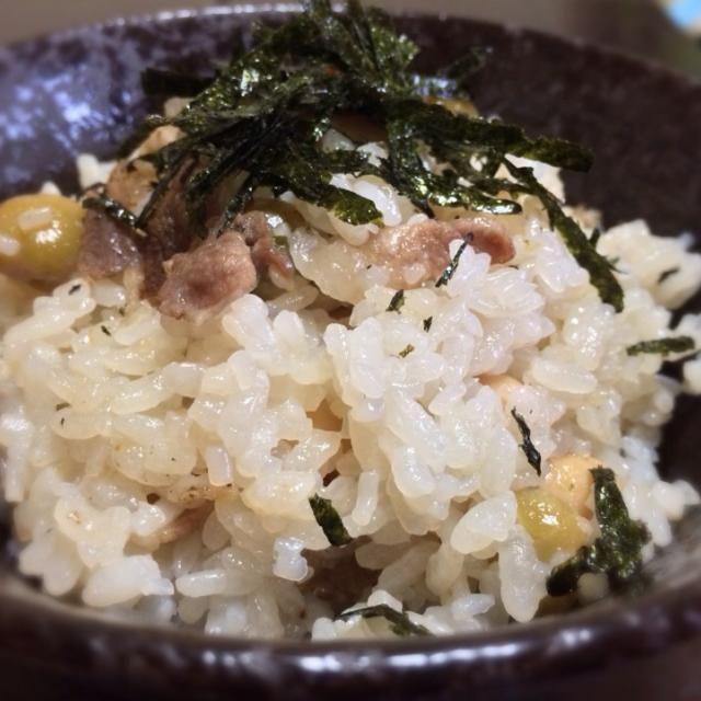 Gary Momoa: ダイエット豆ご飯