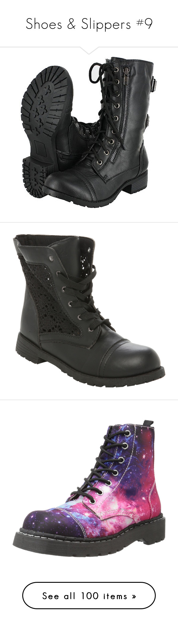 """""""Shoes & Slippers #9"""" by amsmith0107 ❤ liked on Polyvore featuring shoes, boots, ankle booties, lace up booties, black lace up booties, black lace up ankle booties, black ankle booties, black boots, t u k boots and combat booties"""