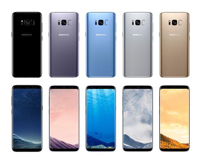 Resultado De Imagen Para Samsung S8 Colores Telefonos Samsung