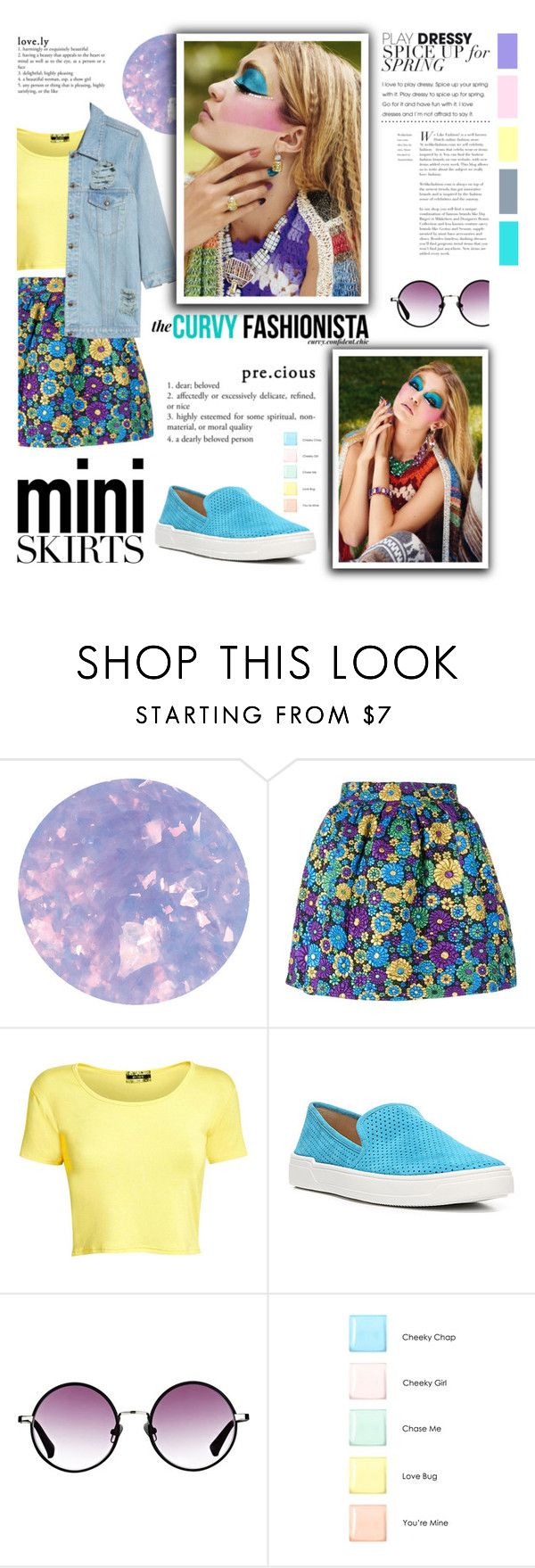 """""""Mini Me: Cute Skirts"""" by milica1940 ❤ liked on Polyvore featuring SpaRitual, House of Holland, Pilot, Via Spiga, The Row and Rimmel"""