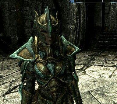 Image result for dark elf glass armor fire magic