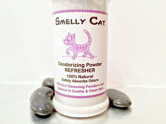Smelly Cat Organic Dry Powder Deodorizing Cleansing Refresher Shampoo Natural Dry Cat Grooming Safe For Cats Multi Purpose 6 5 Oz Deodorant Cleansing Powder Cleansing Shampoo