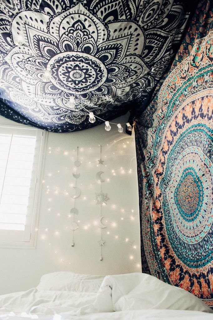 Sun moon and stars wall hanging decor