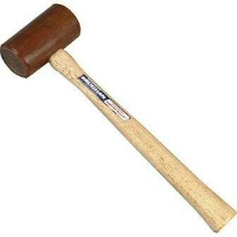 mal·let ˈmalət/Submit noun a hammer with a large, usually wooden head, used especially for hitting a chisel. a long-handled wooden stick with a head like a hammer, used for hitting a croquet or polo ball.