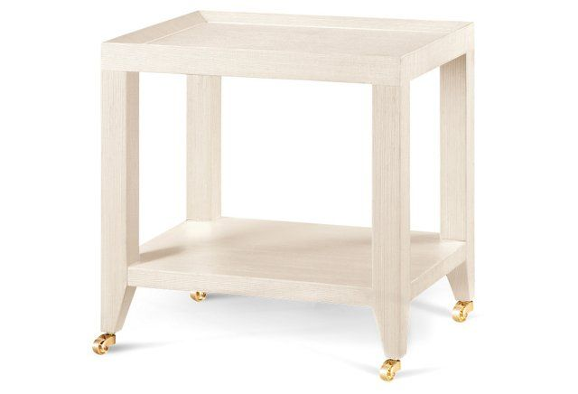 650 X X Isadora Side Table, White