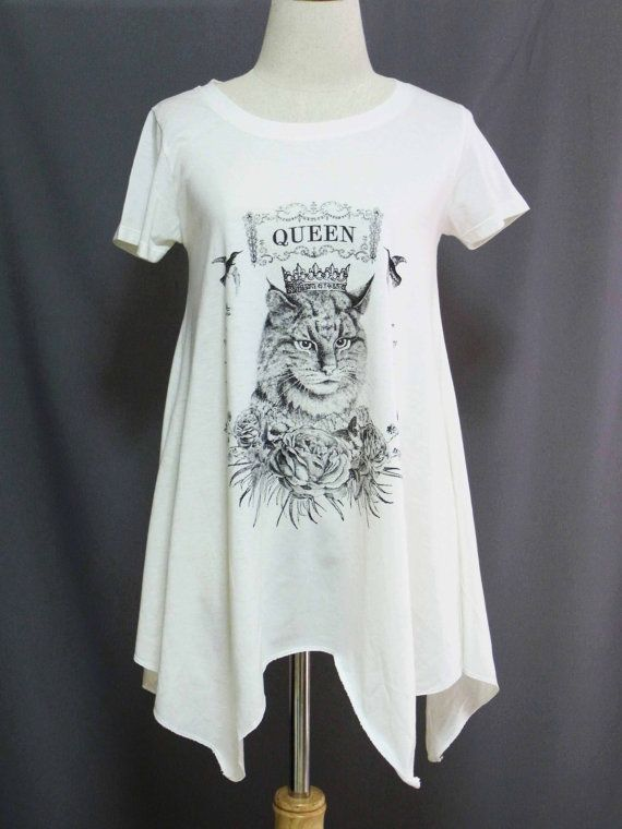 Cat kitten Cute Queen Princess Rose Pet Animal by sinclothing, $22.00