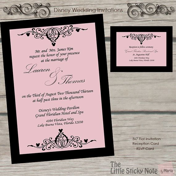 32 Awesome Picture Of Disney Themed Wedding Invitations Denchaihosp Com Disney Wedding Invitations Cinderella Wedding Invitations Themed Wedding Invitations