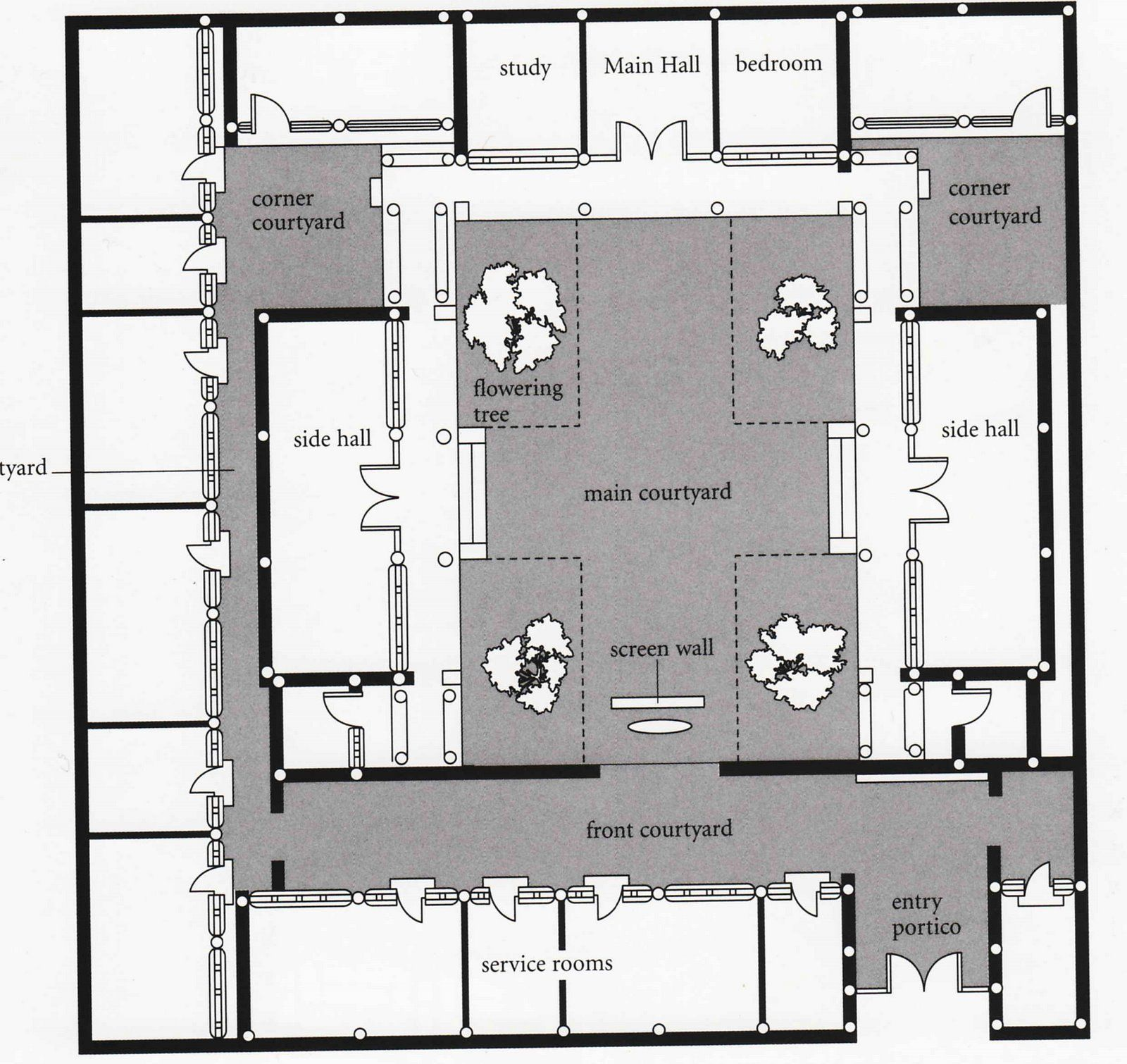 Courtyard Mei Lanfang Jpg Image Courtyard House Plans Chinese Courtyard Traditional Japanese House