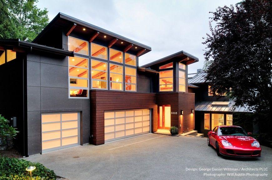 Modern Westcoast Waterfront Home Design (Mercer Island)