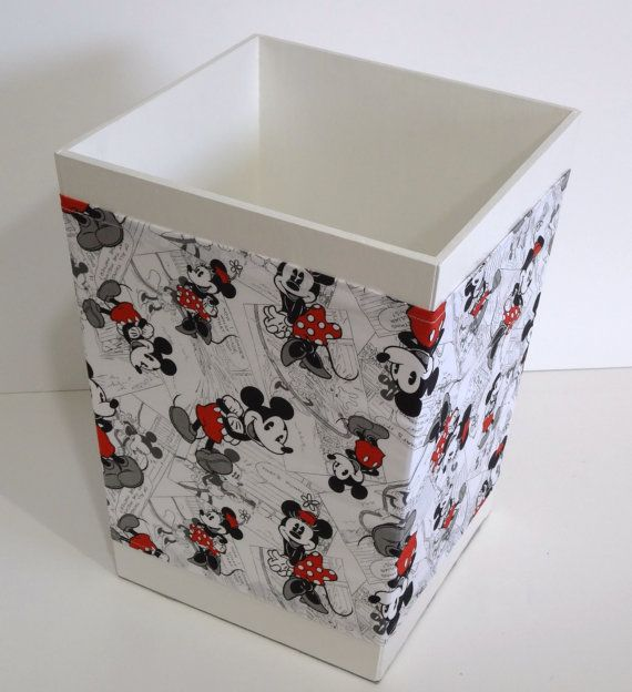 Jaxson's Trash Can for his Mickey Bathroom | Mickey Mouse ...