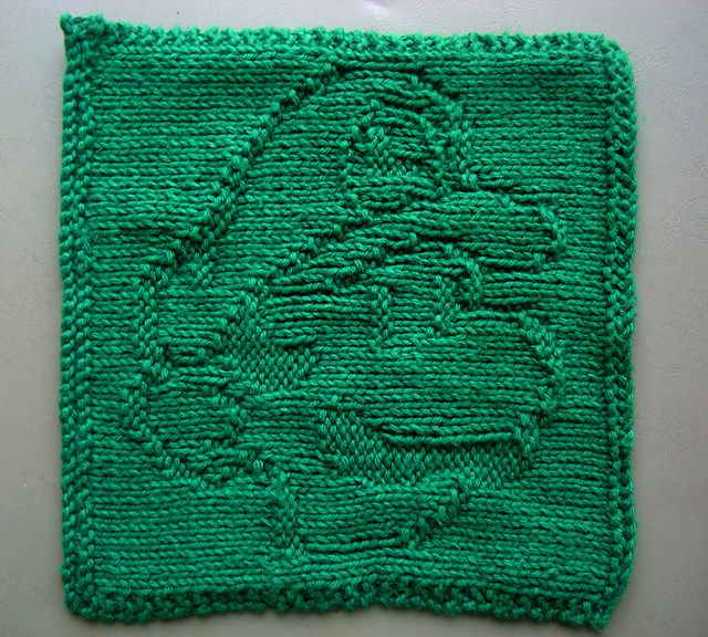 Ravelry Luigi Washcloth Pattern By Carolyn Lisle E Equals Mc