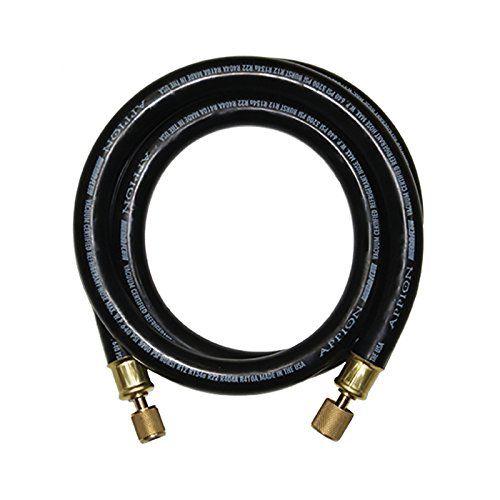 2 Appion Mh120006eak 1 2 Diameter Hose 3 8 Fl To 1 4 Fl Vacuum Hose 6 96 With Images Hose Vacuums Black