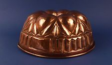 Antique 19thC Copper Jelly Cake Pudding Mould Mold