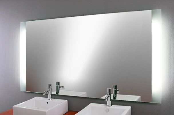 Spiegel beleuchtet Modern Decor Pinterest Modern - badezimmer spiegel beleuchtung