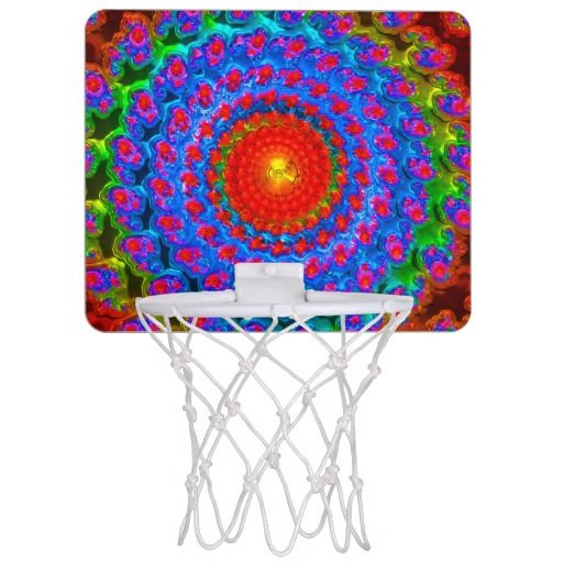 Fractal Chromatic 1 Mini Basketball Hoops