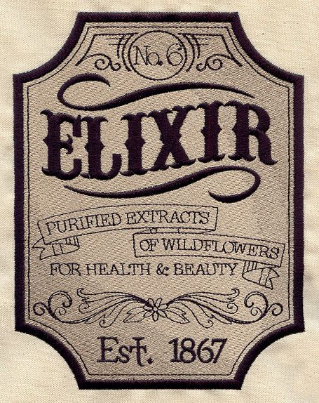 Elixir Apothecary Label Apothecary Design Apothecary Labels Vintage Labels