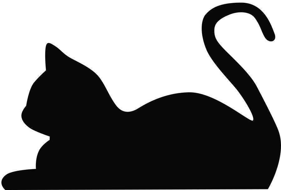 Cat Silhouette's | Silhouette s, Cat silhouette and Cat