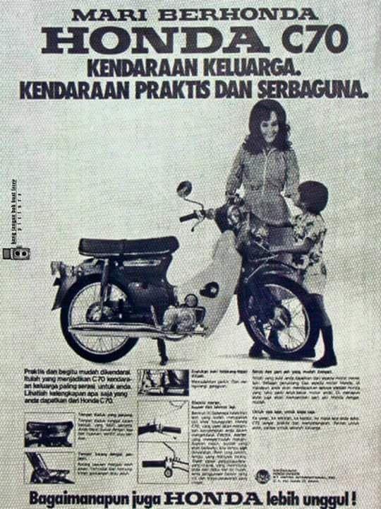 Poster Poster Iklan Motor Jadul Ini Membuktikan Kalo Motor Dan