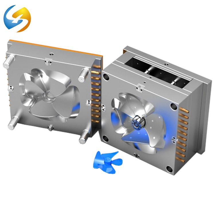 New High Polish Single Cavity Plastic Injection Mold For Fan Blade Exhaust Fan Plastic Injection Mold Services View Plastic Injection Mold Mold Cheap Plasti Plastic Injection Molding Plastic Injection Injection Moulding