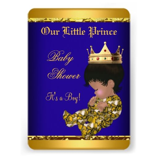 Its A Girl Banner Template African American Princ...