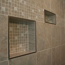 Shower Niche Ideas This Is One Of Many Ways Denny And Gardner Uses Schluter Trim