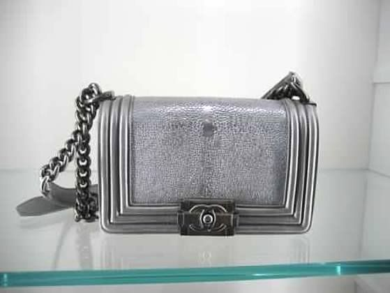 a2920ec791f4 chanel-silver-python-boy-bag-fall-2012 | Fashion | Chanel boy bag ...