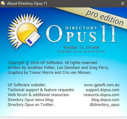 Directory Opus Pro 11 19 Build 6005 Trial Reset (Install