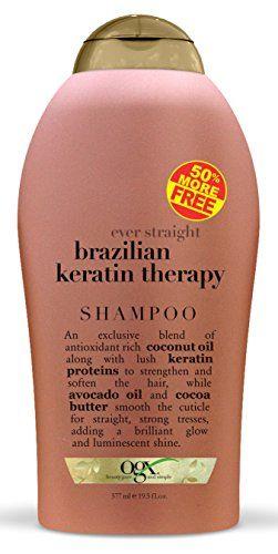 Ogx Organix Shampoo Brazilian Keratin Therapy 195oz Bonus 3 Pack