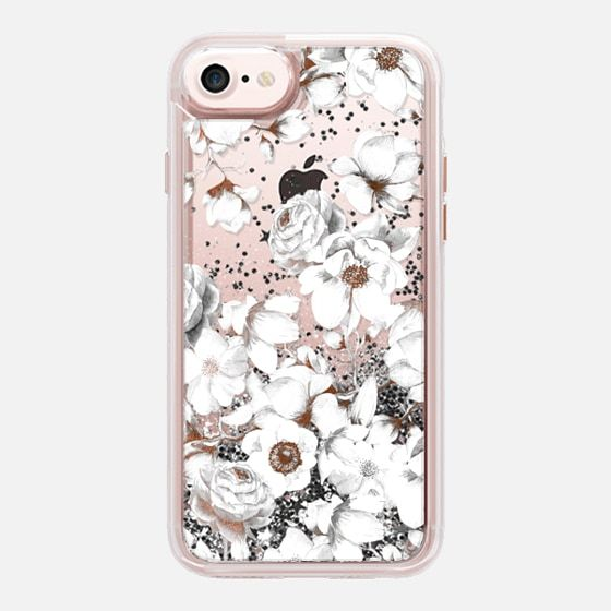 Trendy Elegant Watercolor White Floral Chic Pattern Casetify